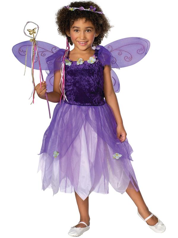 Girl's Plum Pixie Costume