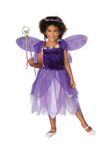 Girl's Plum Pixie Costume