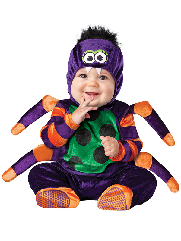 child infant spider outfit fancy dress costume halloween - Kids Spider Halloween Costume