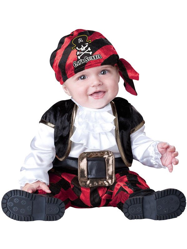 Child-Infant-Pirate-Captain-Outfit-Fancy-Dress-Costume-Caribbean-Kids-Boys-Girls