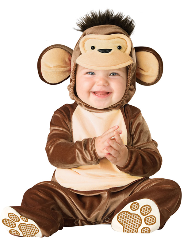 Infant's Mischevious Monkey Costume