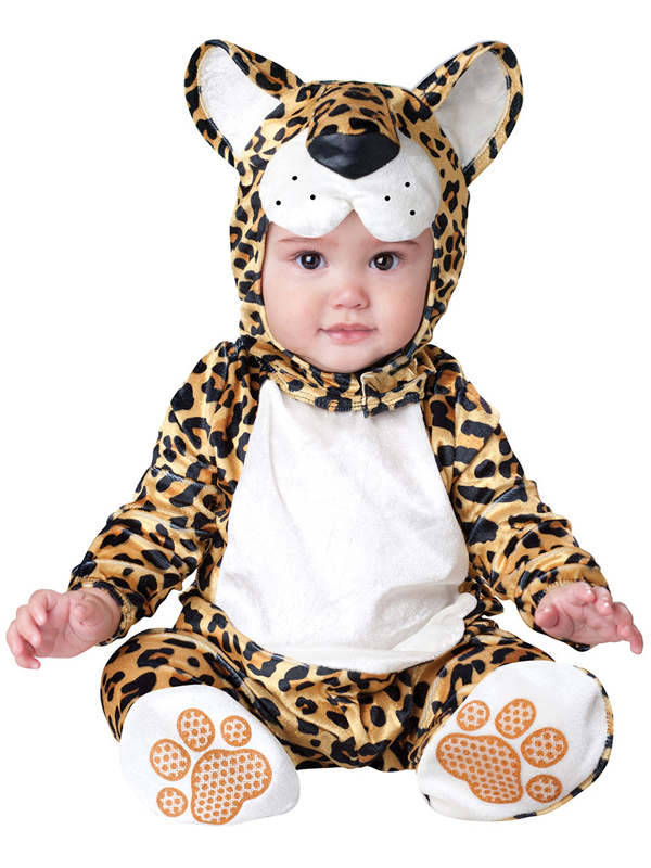 Infant's Leaping Leopard Costume