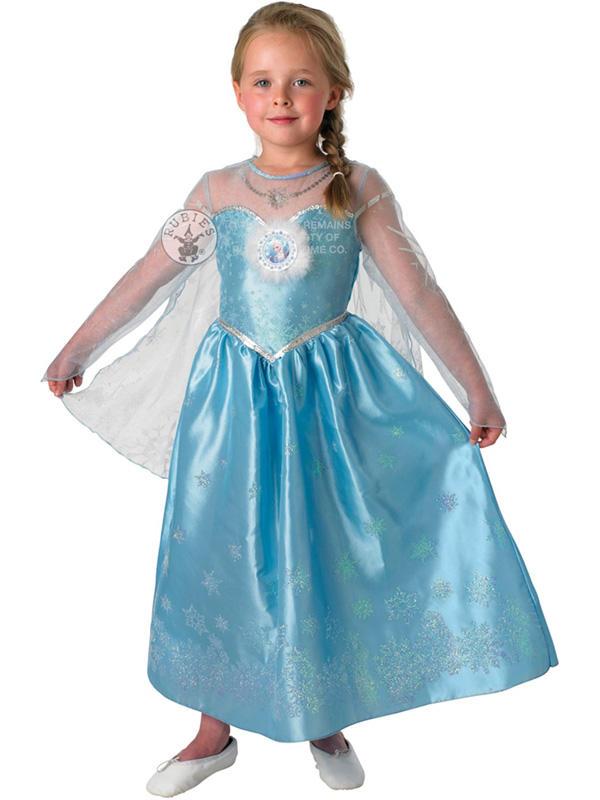 View Item Girl's Disney Frozen Elsa Snow Queen Deluxe Costume