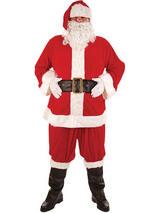 Men's Deluxe Santa Costume