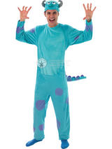 View Item Adult Monsters University Inc James P 'Sulley' Fancy Dress Costume Halloween