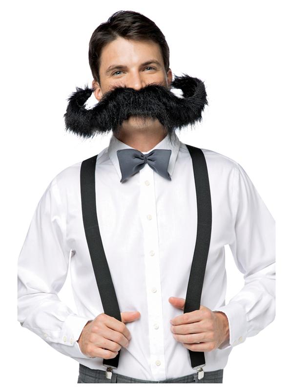 """Supersize 20"""" Moustache"""