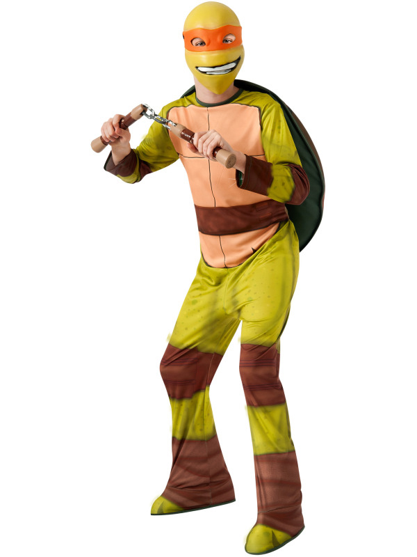 Boys Michelangelo Teenage Mutant Ninja Turtle Outfit Fancy ...