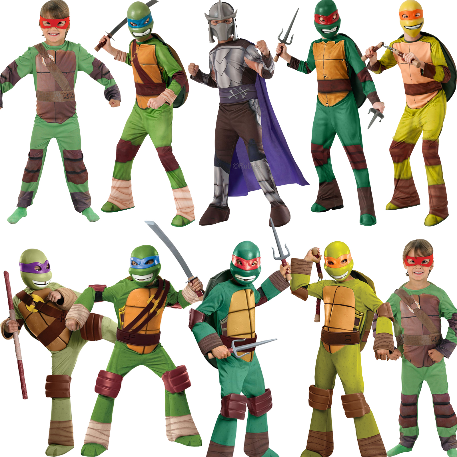 Teenage mutant ninja turtles costume for kids - photo#15