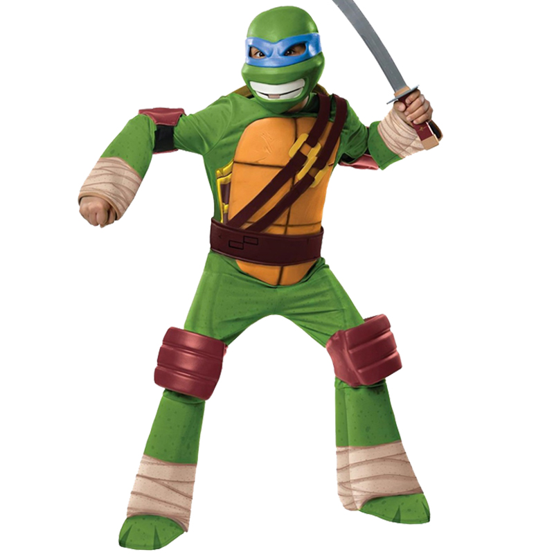 Deluxe-Child-TMNT-Fancy-Dress-  Ninja Turtles Costumes Baby