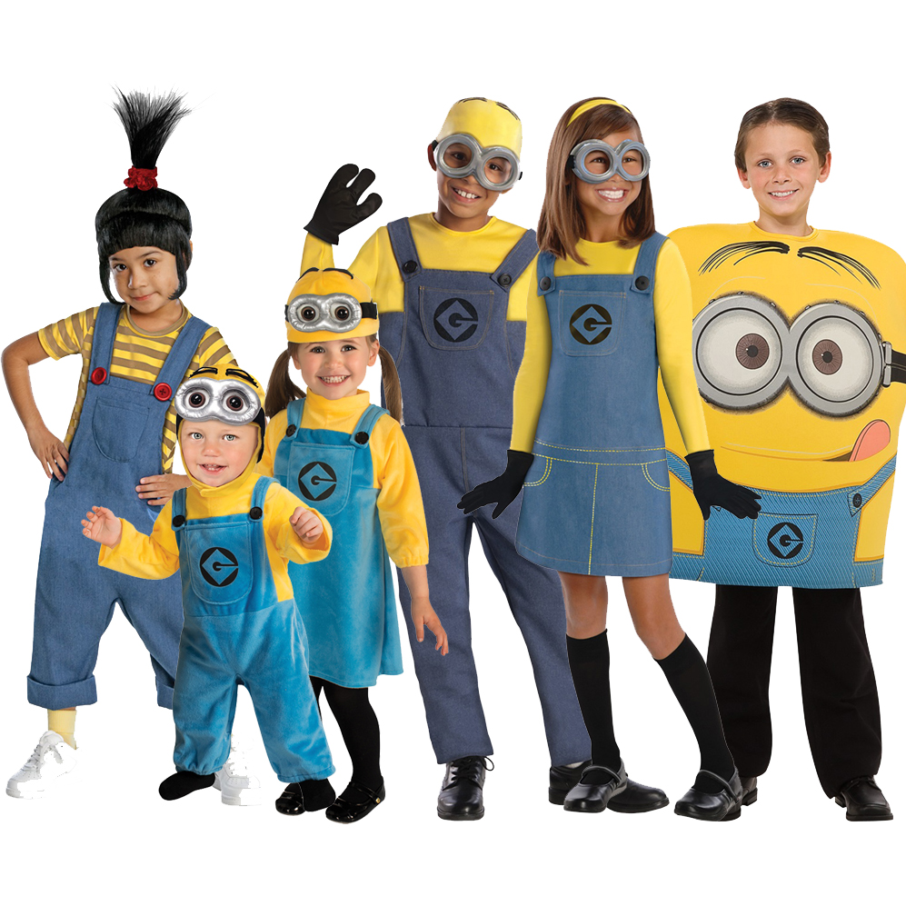 NEW Kids Official Despicable Me Minion Fancy Dress Up Costume Outfit Boys Girls | EBay