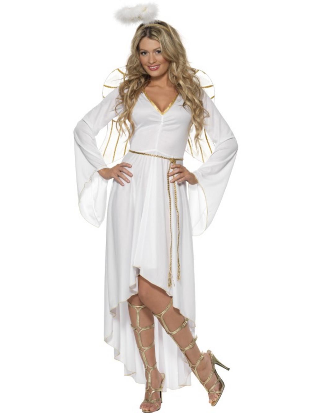 Adult Christmas Angel New Fancy Dress Costume Xmas Fairy  sc 1 st  Meningrey & Christmas Fairy Costume - Meningrey