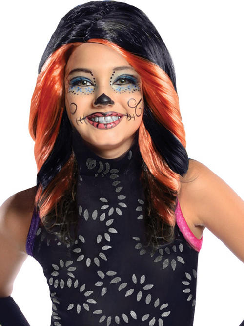 View Item Monster High Skelita Calaveras Wig