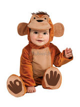 View Item Child Funky Monkey Jungle Animal Fancy Dress Costume Ape Chimp Boys Kids Unisex