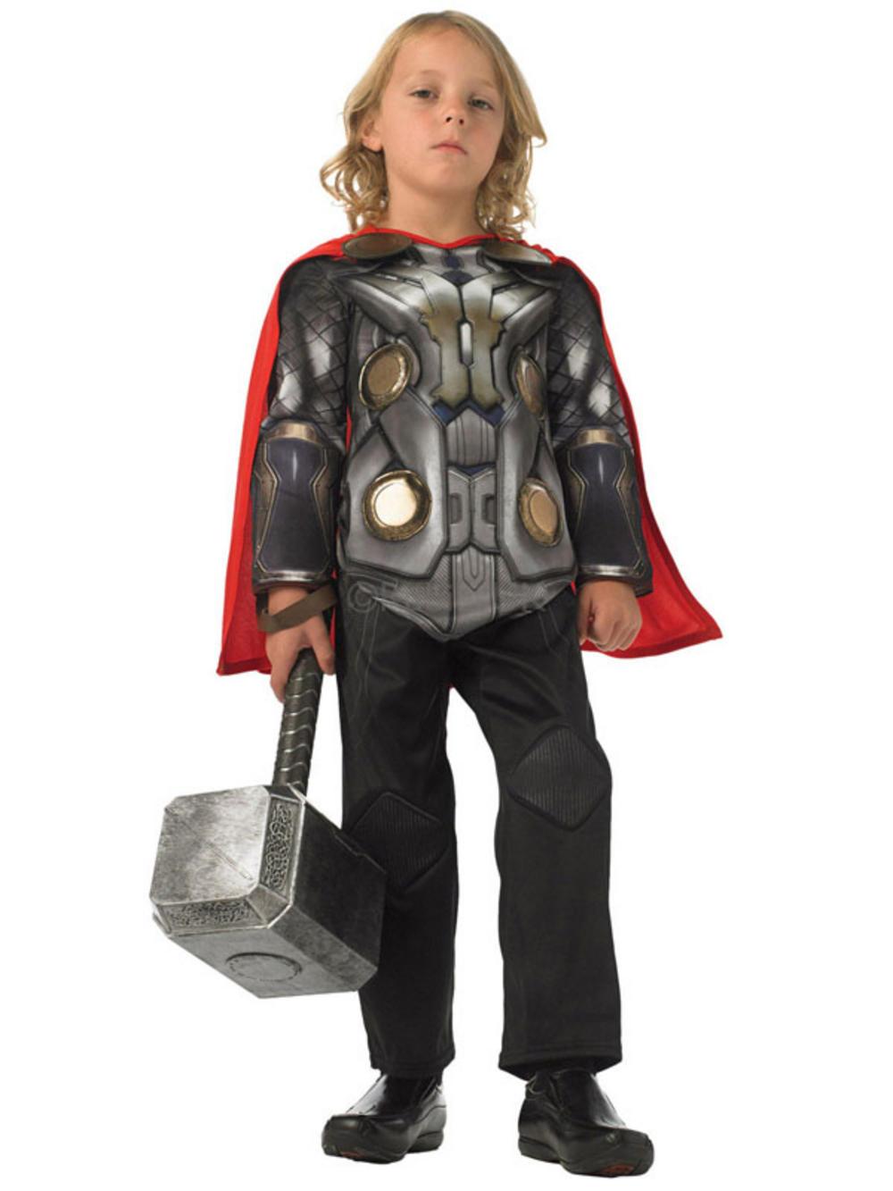 child marvel thor 2 initiative fancy dress costume boys buy child marvel thor 2 initiative deluxe fancy dress costume book week buy
