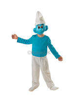 Boy's Deluxe Smurf Costume