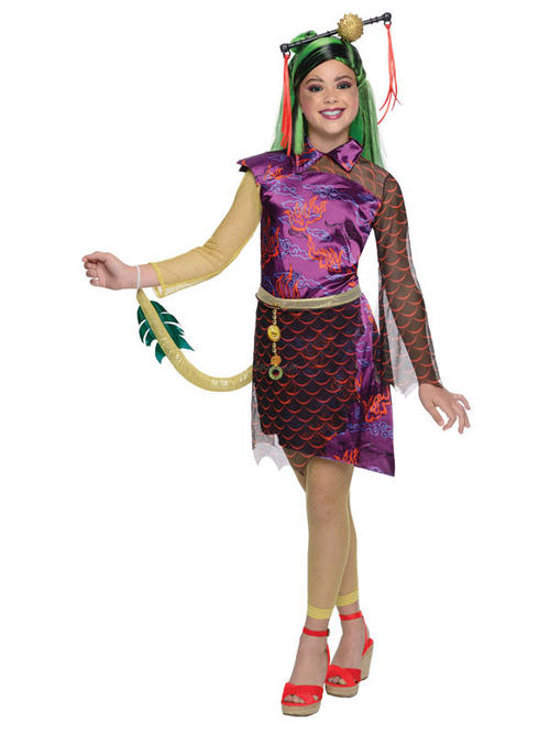 View Item Monster High Jinafire Long Girl's Costume