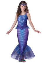 Girl's Purple Mermaid Costume