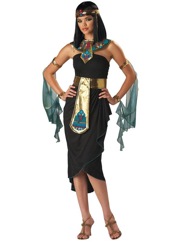 Ladies Black Cleopatra Costume