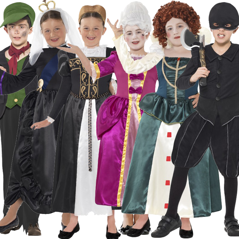 Child Horrible Histories Victorian Tudor Book Week Kids