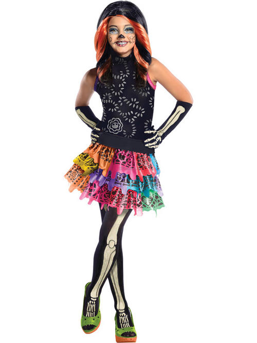 View Item Monster High Skelita Calaveras Costume