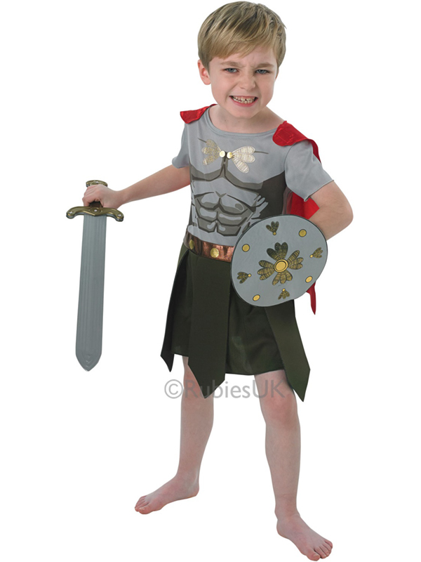 Fearless Gladiator Boy's Costume