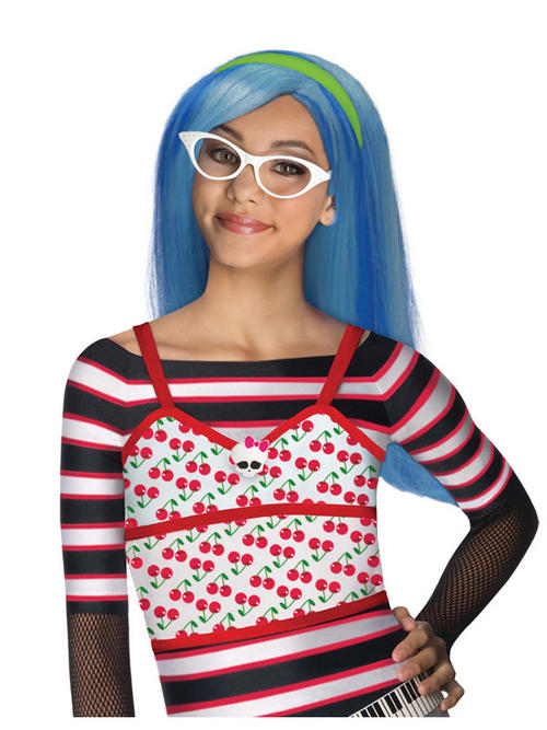 View Item Monster High Ghoulia Yelps Wig