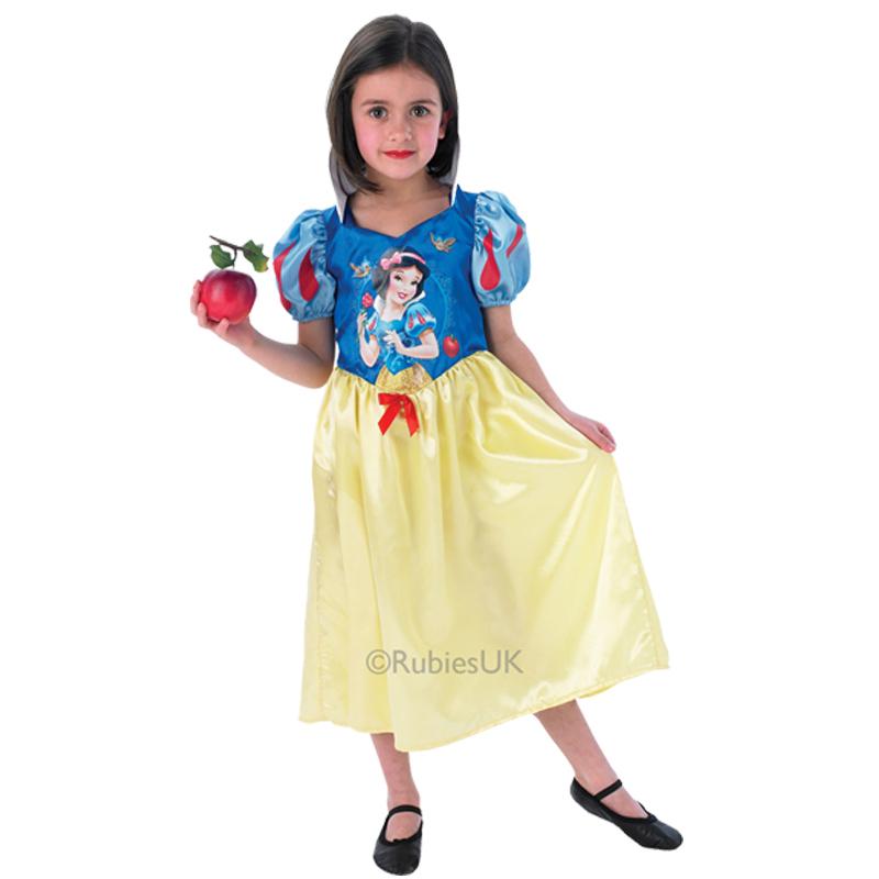 Childs Disney Snow White Classic Princess Kids Fancy Dress Costume ...