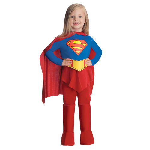 Childs-Superhero-Fancy-Dress-Costume-Halloween-Book-Week-Kids-New-Girls-Outfit