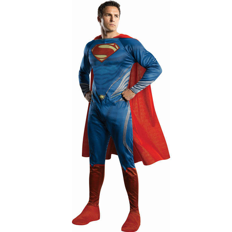 Mens-Classic-Adult-Superhero-Fancy-Dress-Costume-New-Comic-Book-Week-Outfit