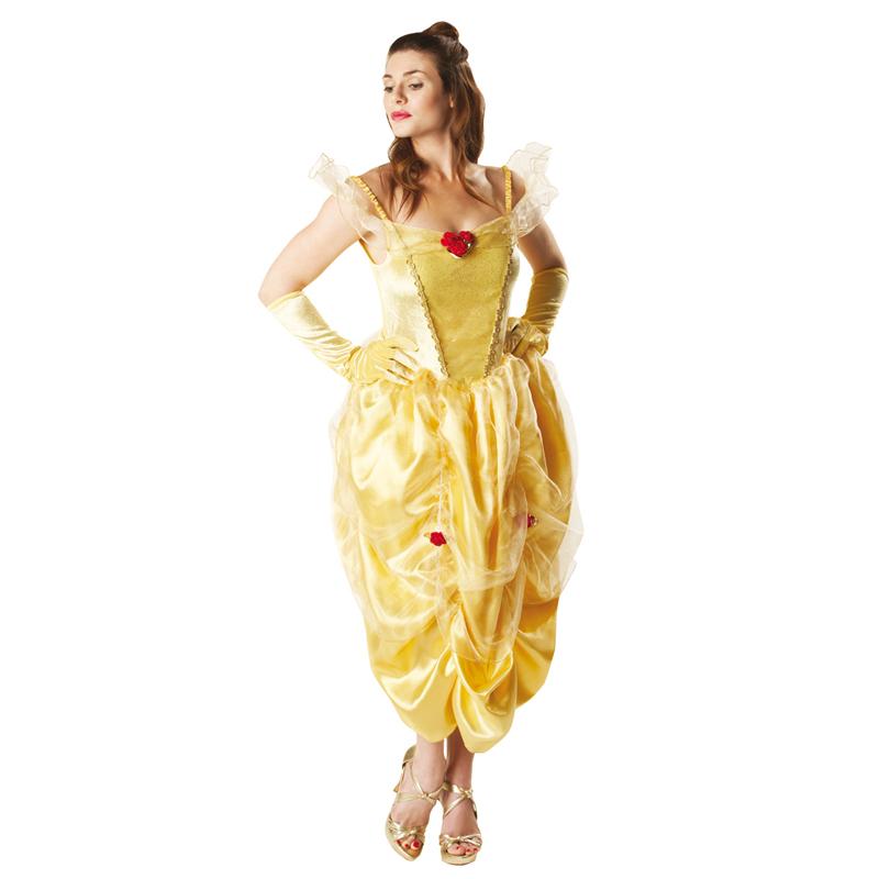 Licensed Disney Princess Deluxe Ladies Fairytale Adult Fancy Dress New Costume
