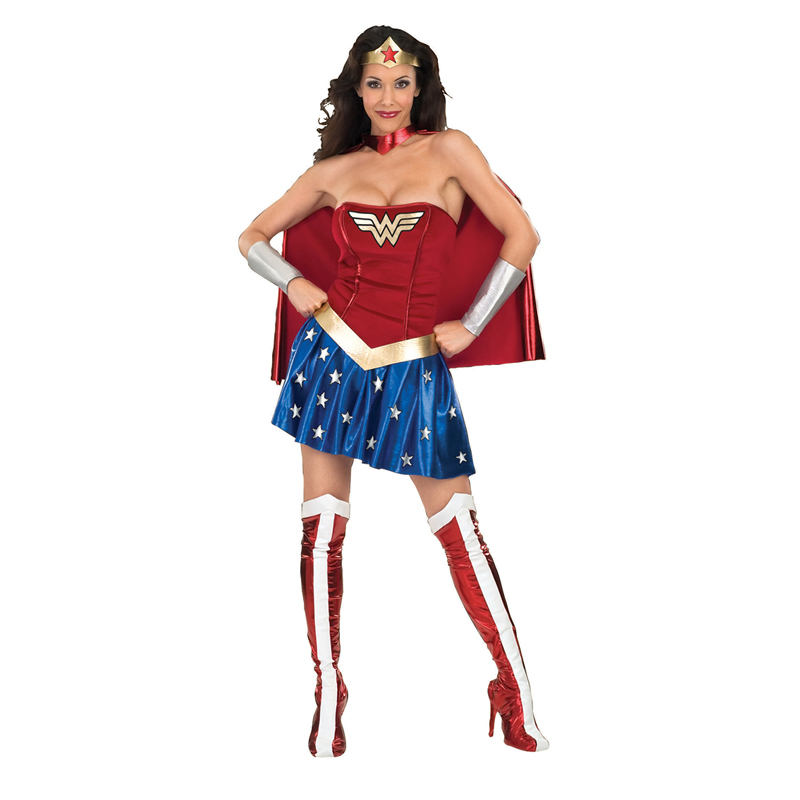 Licensed-Adult-Ladies-Sexy-Superhero-New-Fancy-Dress-Costume-Superheroes-Movie