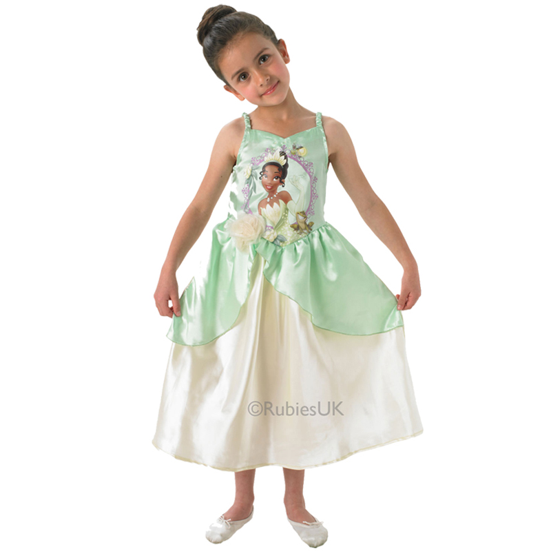 Fantastic Kids Disney Princess Loveheart Jasmine Girls Fancy Dress Childs