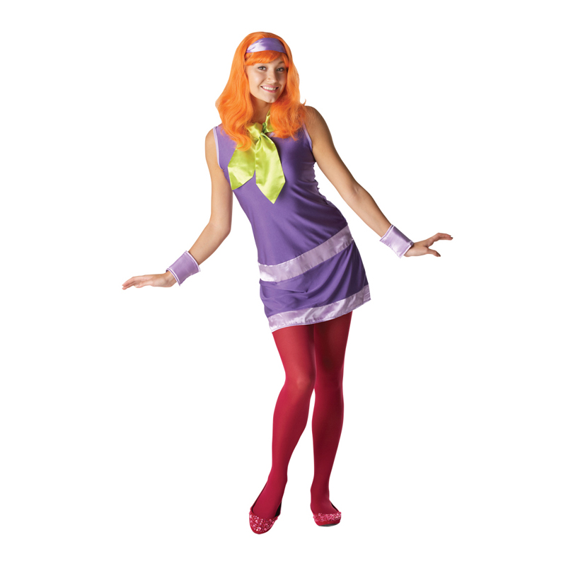 Licensed Scooby Doo & The Gang Fancy Dress Costume Adults Book Week Kids Party