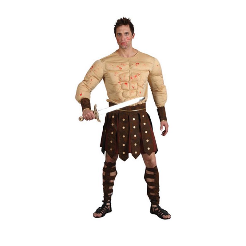 New Roman Centurion Spartacus Ancient Warrior Fancy Dress ...