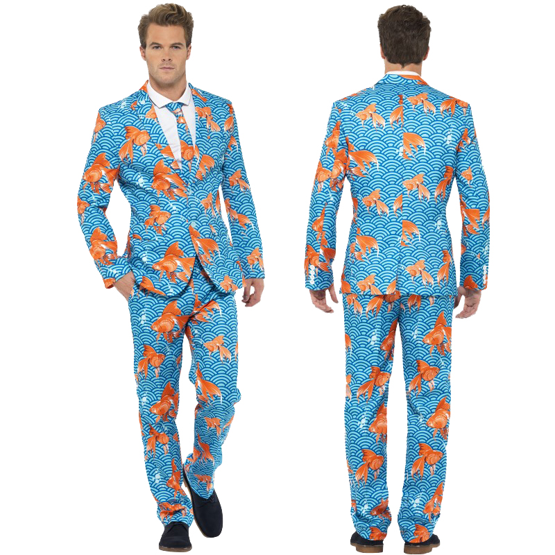 mens stand out suits stag do party new comedy funny fancy