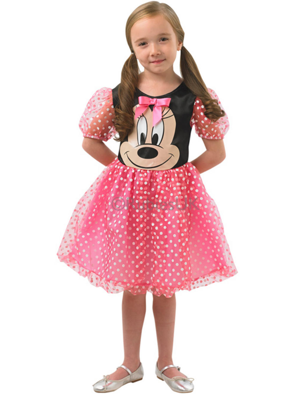 Our Minnie Mouse Disney Costume will instantly transform you into Mickey's stylish other half. This official Disney Costume perfectly captures Minnie's iconic spotted ensemble. The Minnie Mouse outfit includes a gorgeous spotty dress with puff sleeves, satin skirt and embroidered button detail.5/5(2).