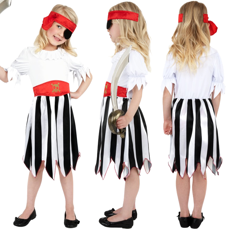 Childs-Bucaneer-Pirate-Captain-New-Fancy-Dress-Costume-Kids-Jack-Sparrow-Outfit