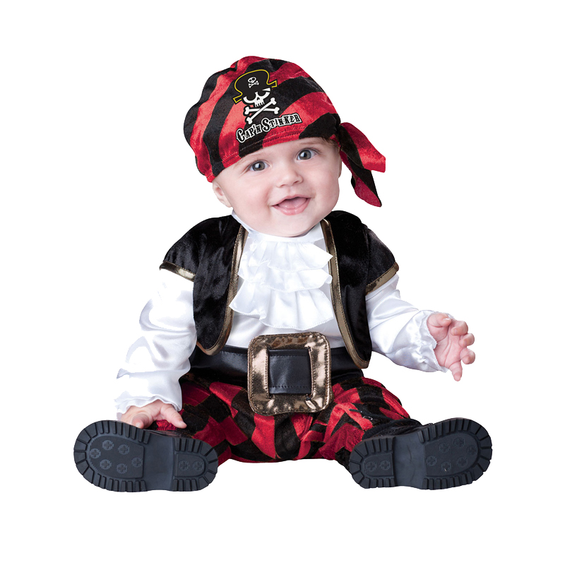 childs bucaneer pirate captain new fancy dress costume - Jack Sparrow Halloween Costumes