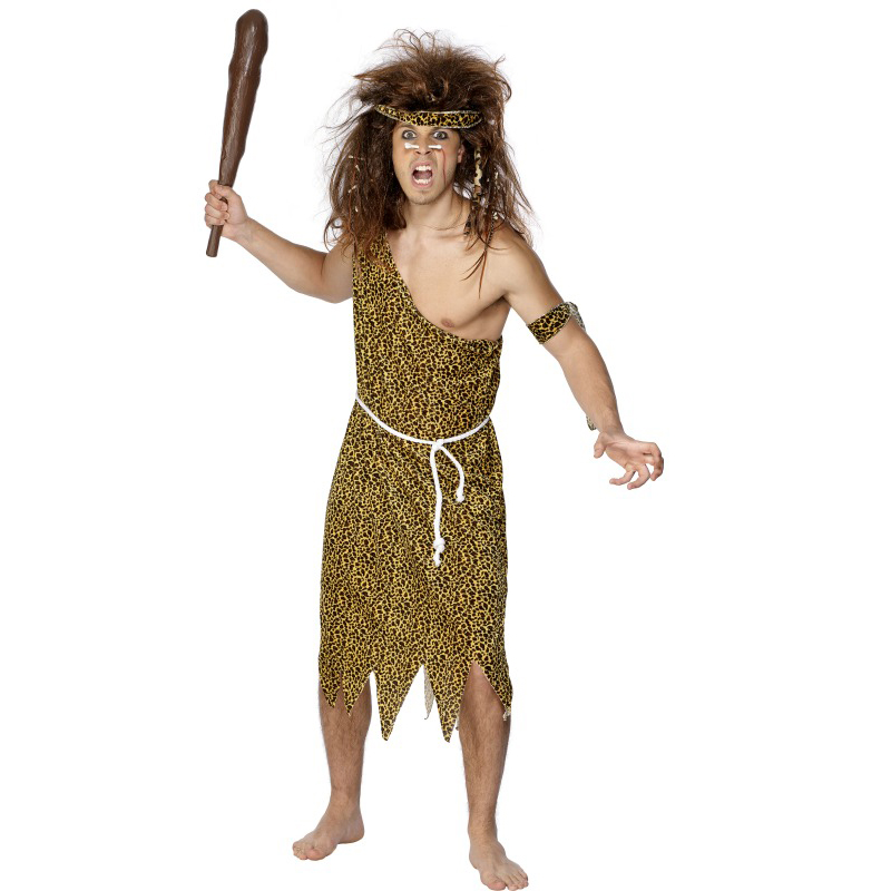 Original CAVEWOMAN Stoneage Ladies Jungle Cave Girl Fancy Dress