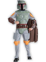 View Item Child Star Wars Boba Fett Fancy Dress Costume & Mask Empire Strikes Back Kids