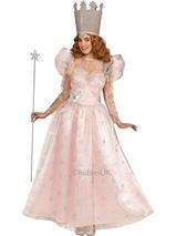 View Item Adult Good Witch Glinda Fancy Dress Costume Princess Wizard of Oz Ladies Womens