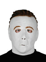 View Item Adult Halloween Michael Myers Overhead Mask Fancy Dress Horror Mens Ladies
