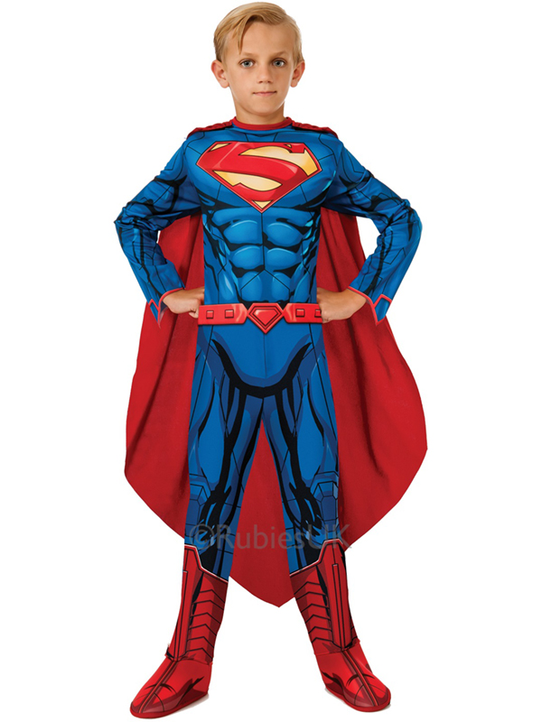A Superman Costume, or one of his his side-kicks, is always a crowd favorite. Let no Kryptonite defeat you! You don't need to be called Clark Kent to put on your cape and fly to your next fancy dress party in one of our Superman Costumes, such as the New Superman Adult Costume.