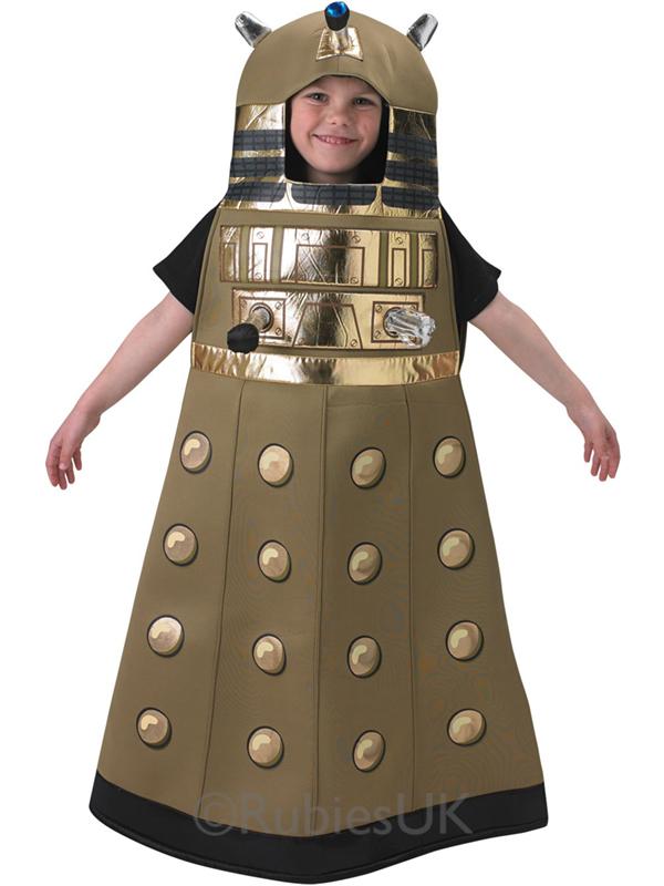kost m doctor who dalek bbc tv robot verkleidung neu kost m kinder jungen ebay. Black Bedroom Furniture Sets. Home Design Ideas