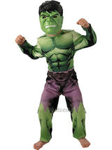 Child Avengers Assemble The Incredible Hulk Fancy Dress Costume Superhero Boys