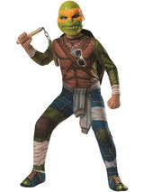 View Item Child Teenage Mutant Ninja Turtles TMNT Michaelangelo Fancy Dress Costume Kids