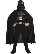View Item Child Star Wars Darth Vader Fancy Dress Costume & Mask Kids Boys