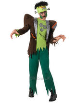 View Item Adult Frankenstein Fancy Dress Costume Frankie Family Halloween Horror Mens