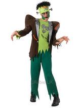 View Item Adult Frankenstein Fancy Dress Costume Frankie Family Halloween Horror Mens