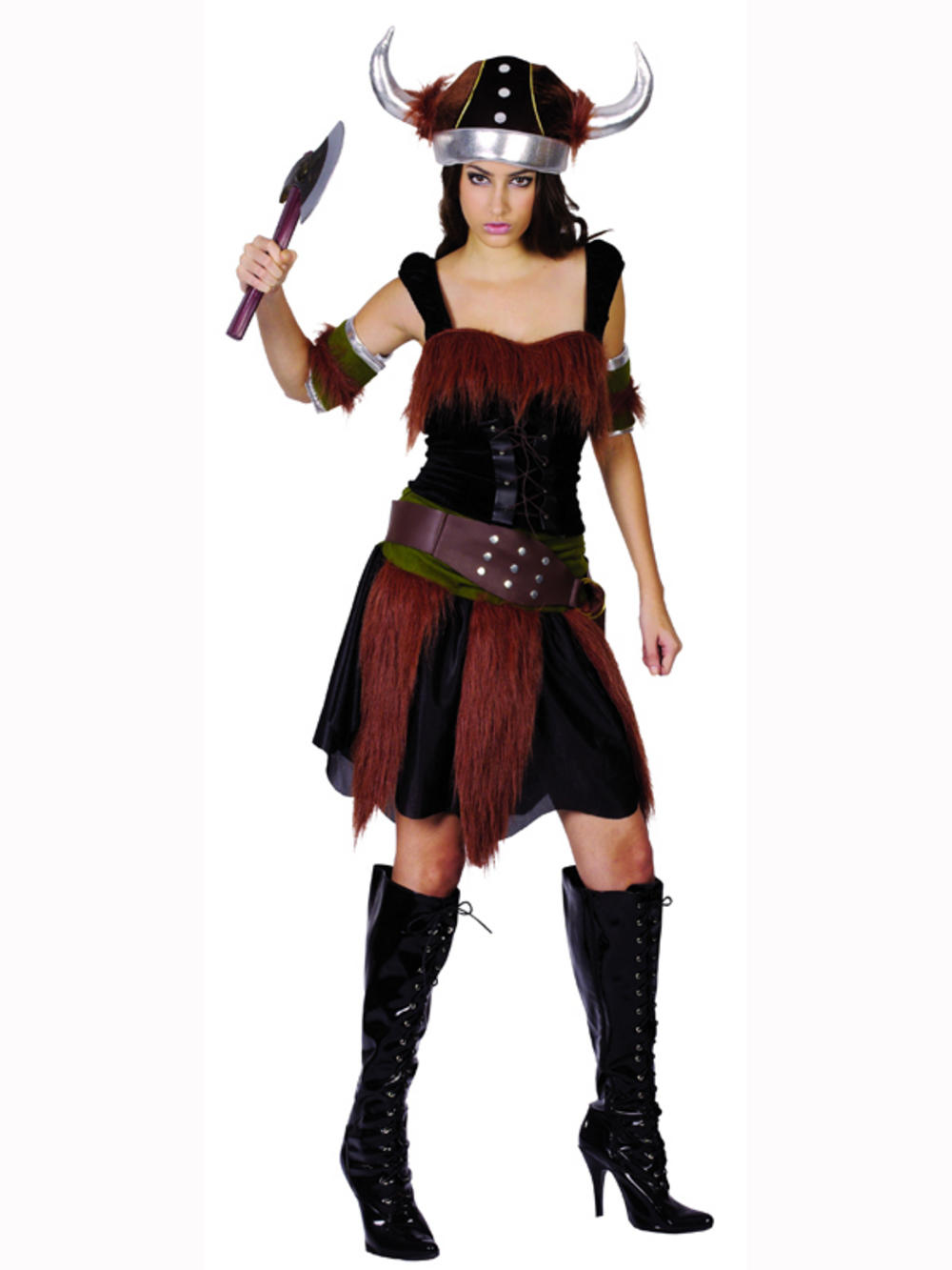 Perfect Girl39s Historical Viking Fancy Dress Costume By Wicked EG3586